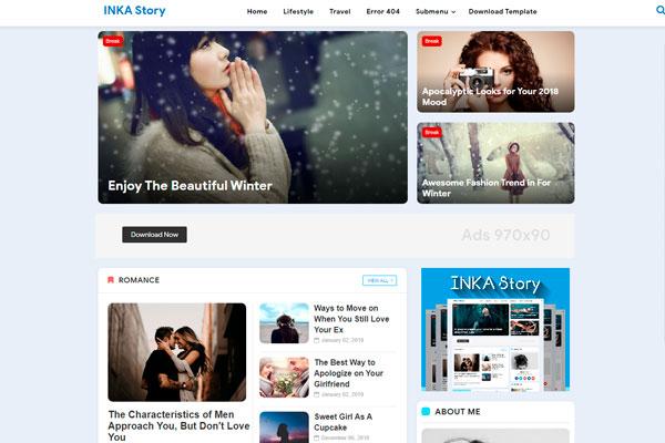 Inka Story Plantilla Blogger